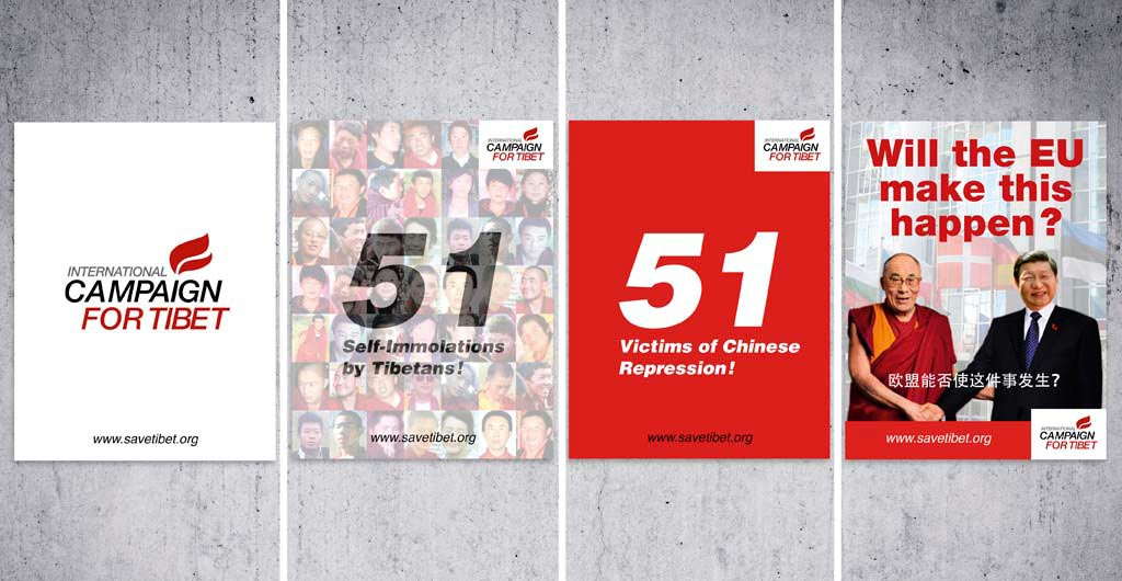 Poster International Campaign For Tibet